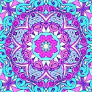 Drawing Floral Doodle G5 by MEDUSA GraphicART