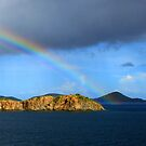 Rainbow in Antigua by Paul Lenharr II