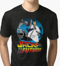 Jack to the Future Tri-blend T-Shirt