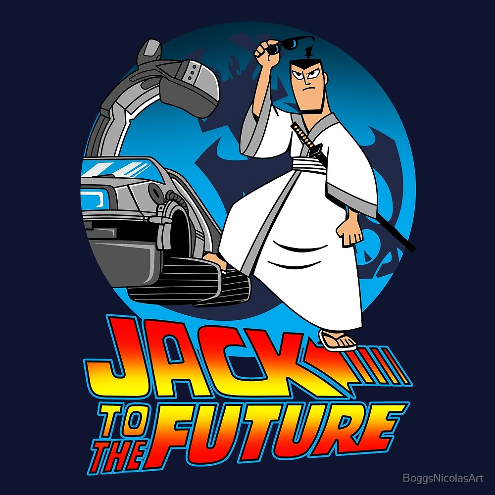 Jack to the Future by BoggsNicolasArt