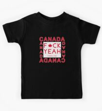 Canada - Strong & Free Kids Tee