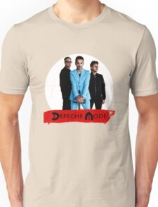 DEPECHE MODE PERSONNEL WHITE Unisex T-Shirt