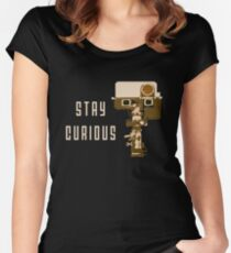 Stay Curious Women's Fitted Scoop T-Shirt