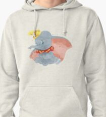 Watercolor Elephant (Dumbo) Pullover Hoodie