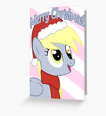 Derpy Hooves Christmas Card - Postcard My Little Pony Greeting Card