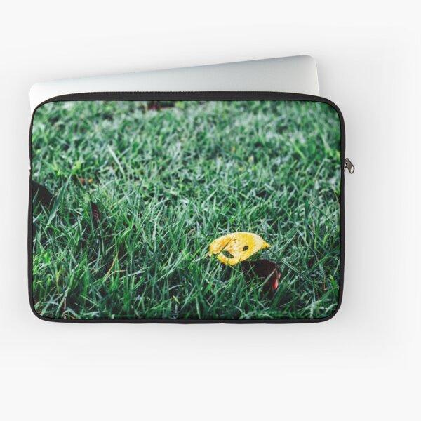 Yellow leaf Laptop Sleeve