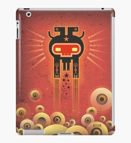 ELECTROCHAMAN Red face iPad Case/Skin