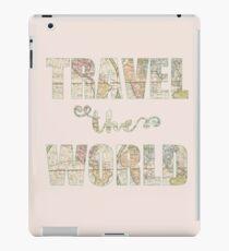 Travel the world Vinilo o funda para iPad
