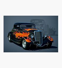 """1934 Ford Hot Rod """"The California Kid"""" Photographic Print"""