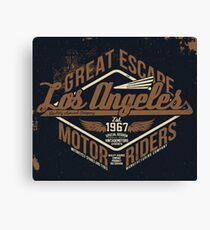 Great Escape Los Angeles Canvas Print