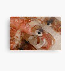 Squid Metal Print