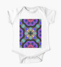 Drawing Floral Doodle G108 One Piece - Short Sleeve