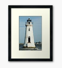 The Cockspur Lighthouse Framed Print