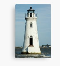 The Cockspur Lighthouse Canvas Print