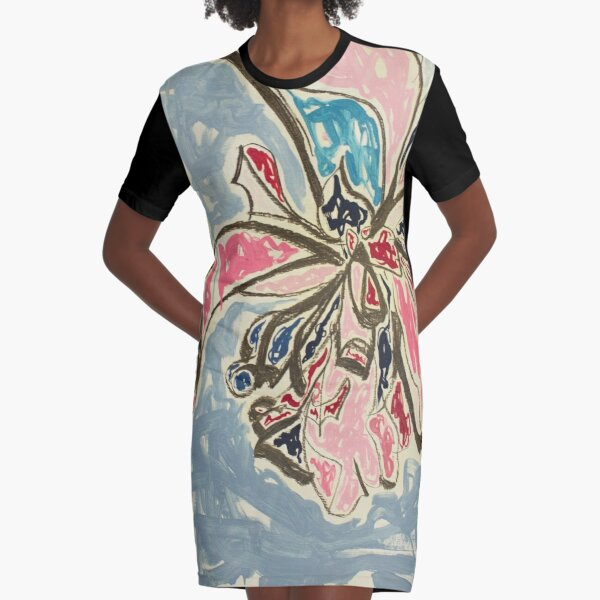 The Last Bow Graphic T-Shirt Dress