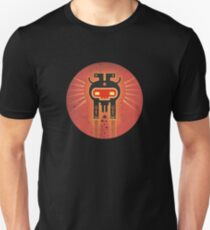 ELECTROCHAMAN Red face Unisex T-Shirt