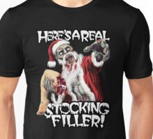 Zombie Christmas Stocking Filler Unisex T-Shirt