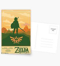 Legend of Zelda: Breath of the Wild Poster Postcards