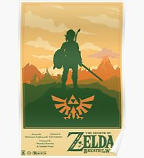 Legend of Zelda: Breath of the Wild Poster Poster