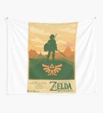 Legend of Zelda: Breath of the Wild Poster Wall Tapestry