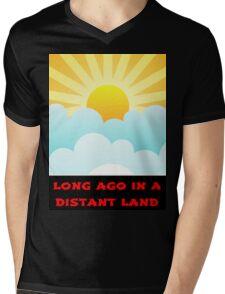Long Ago In A Distant Land Mens V-Neck T-Shirt