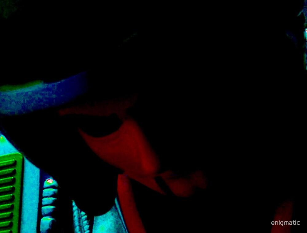 Darkening by enigmatic