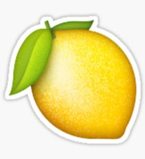 Lemon Stickers Redbubble