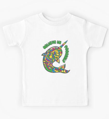 Narwhal Believes in You Kids Clothes