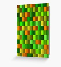 Colorist background Greeting Card