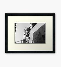 Urban Exploration - Factory Side Framed Print