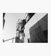 Urban Exploration - Factory Side Photographic Print