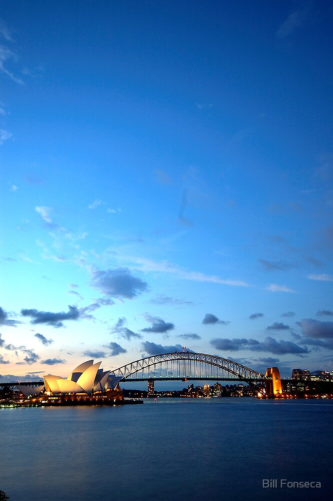 Sydney by Sunset by Bill Fonseca