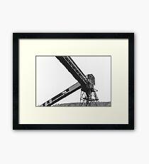 Urban Exploration - Industrial Tower Framed Print