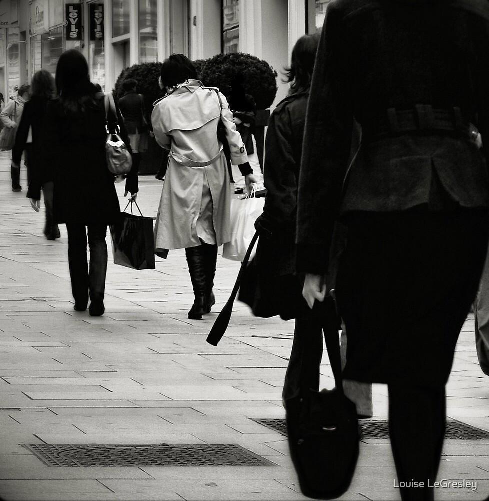 La promenade... by Louise LeGresley