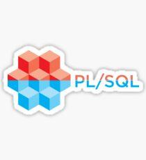 pl/sql plsql Sticker