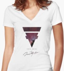 Tokyo Hotel Galaxy Women's Fitted V-Neck T-Shirt