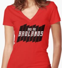Into The Badlands (Into The Badlands) Women's Fitted V-Neck T-Shirt