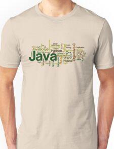 programming languages cloud java Unisex T-Shirt