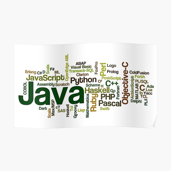 programming languages cloud java Poster