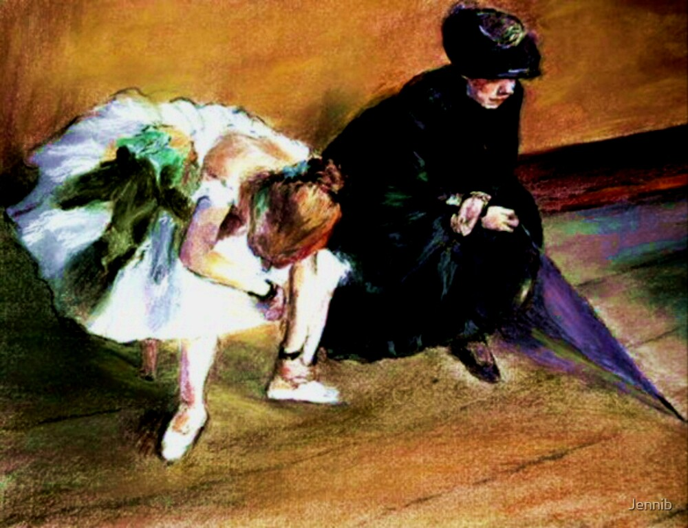 After degas/The Waiting by Jennib