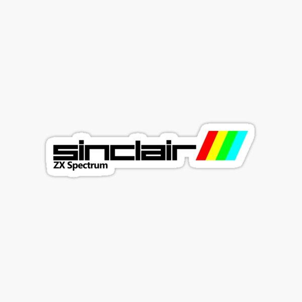 zx spectrum sinclair Sticker