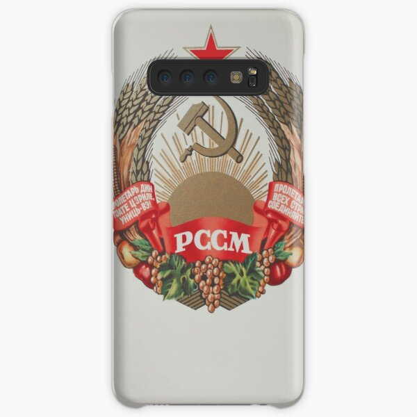 coat of arms of the Moldavian Soviet Republic in the USSR Samsung Galaxy Snap Case