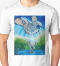 Drinking From My Saucer Unisex T-Shirt