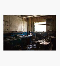 Urban Exploration - Forgotten Office Photographic Print