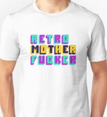 Retro Motherfucker Unisex T-Shirt