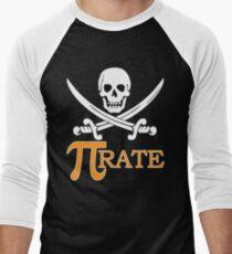 Pi-rate Men's Baseball ¾ T-Shirt