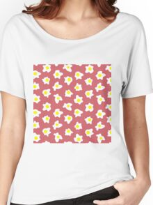 Eggs Over Red Women's Relaxed Fit T-Shirt