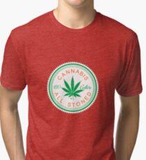 Cannabis Logorythm Tri-blend T-Shirt