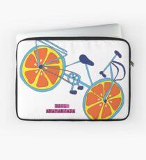 La bicicleta anaranjada Laptop Sleeve