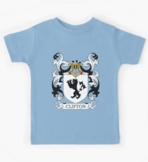 Clifton Coat of Arms Kids Tee